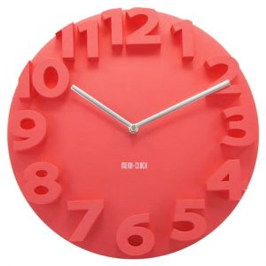 red-clock